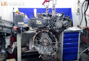 Ремонт двигателя Дискавери 3 2,7 TDV6