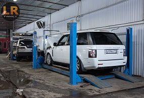 Плановое ТО Range Rover Vogue 5,0